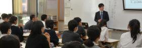 京都市立西京高校附属中学で「特別授業」